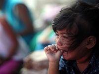 وضعیت غمانگیز کودکان در کاروان مهاجران +تصاویر