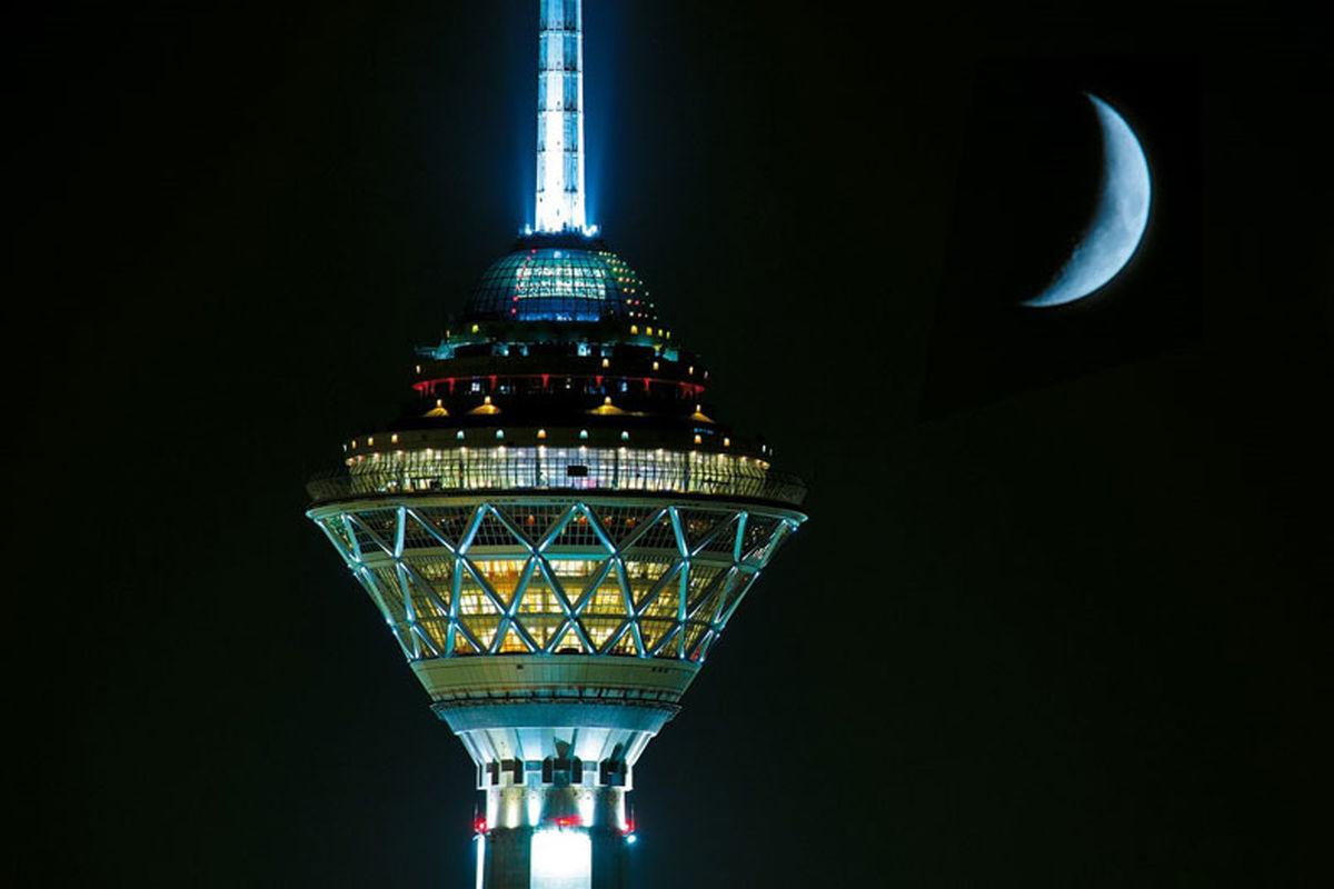 برج میلاد به احترام زمین خاموش شد +فیلم