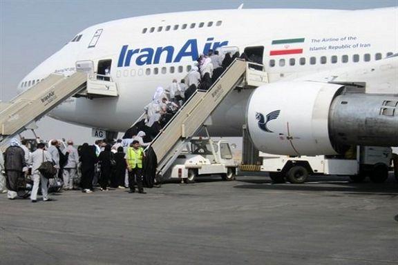 ۴۳هزار زائر حج تمتع با ۱۷۳پرواز به عربستان منتقل شدند