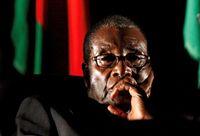 موگابه هنگام استعفا گریه میکرد!