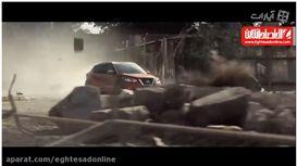 فرار از دست گودزیلا با Nissan Kicks ۲۰۱۷  +فیلم