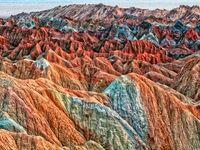 شگفتی کوههای مریخی در ایران +عکس