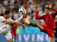 تصاویر منتخب رویترز از بازی ایران و پرتغال