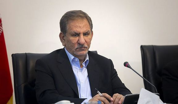 تماس تلفنی جهانگیری با استاندار آذربایجان شرقی