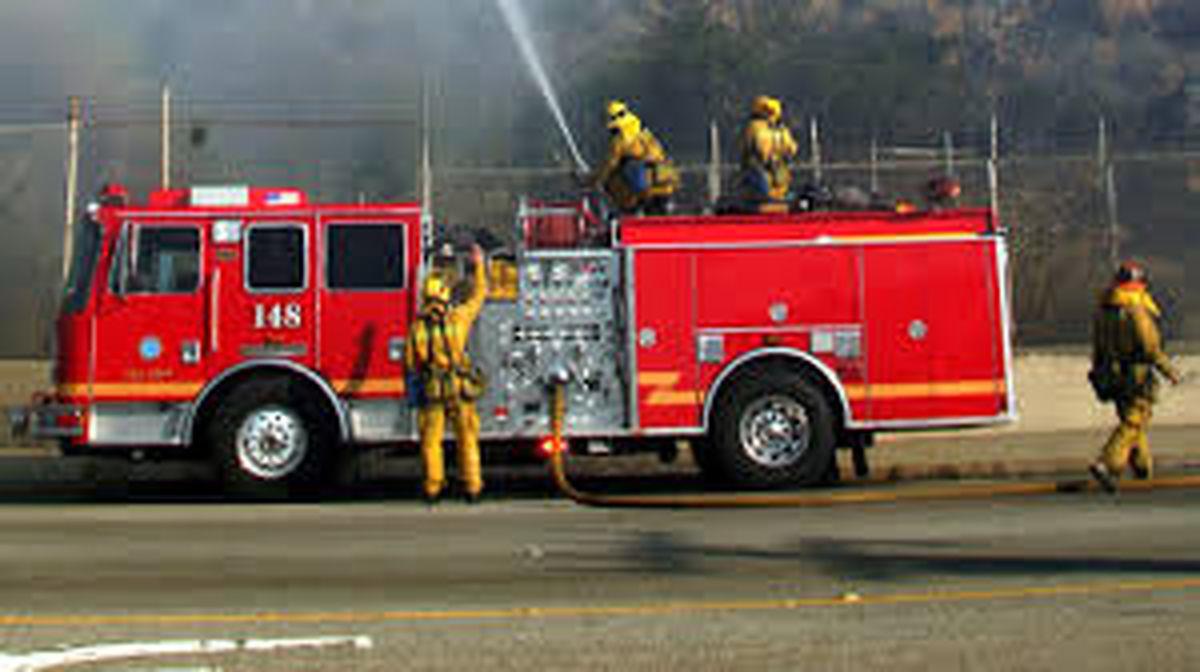 فروشگاه مواد شوینده در تجریش آتش گرفت