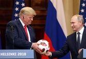آیا توپ اهدایی پوتین به ترامپ وسیله جاسوسی است؟