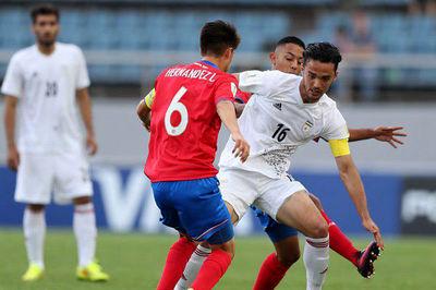پیروزی تیم فوتبال جوانان ایران برابر کاستاریکا