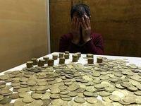 کشف ۳۷قطعه سکه ایلخانی در مهران