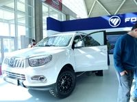 خودرو ۷ نفره  در نمایشگاه خودرو تهران+تصاویر