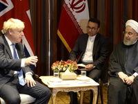 انتقاد شدید روحانی در دیدار نخست وزیر انگلیس