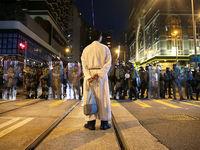اعتراضات هنگ کنگ شهر را به لرزه درآورد +تصاویر