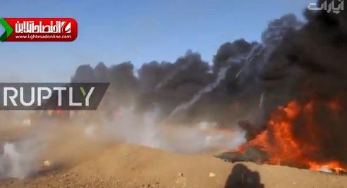 سرکوب وحشیانه فلسطینی ها در مرز اسرائیل +فیلم