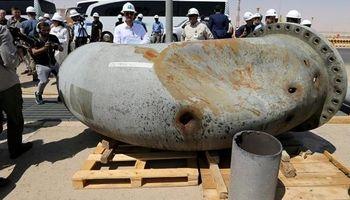 تصاویر از میزان آسیبهای وارده به تاسیسات نفتی خریص