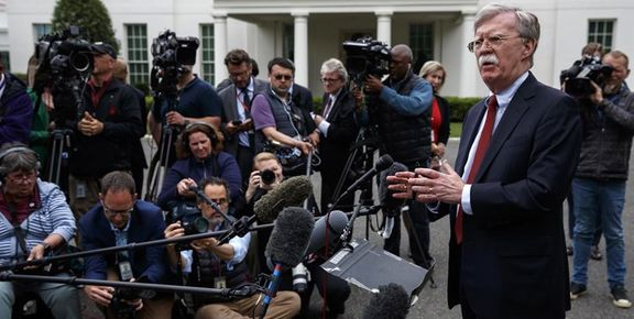 بولتون: کاخ سفید هیچ طرحی برای اقدام نظامی علیه ایران ندارد