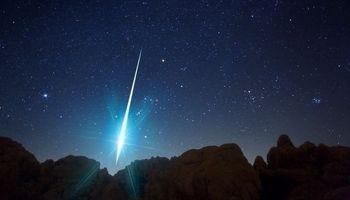 حضور نور مزاحم ماه برای رصد بارششهابی پرساووشی