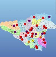 ۸منطقه تهران از شاخص ۲۰۰واحدی آلودگی عبور کرد +عکس