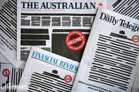 اقدام عجیب روزنامههای استرالیا +عکس