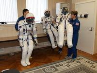 آزمایش نهایی لباس فضایی +تصاویر