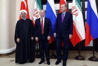 دیدار روحانی، پوتین و اردوغان در آوریل۲۰۱۸