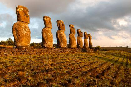 تصاویری زیبا از جزیره ایستر در شیلی
