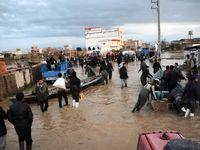 150خانوار گمیشانی در محاصره سیل