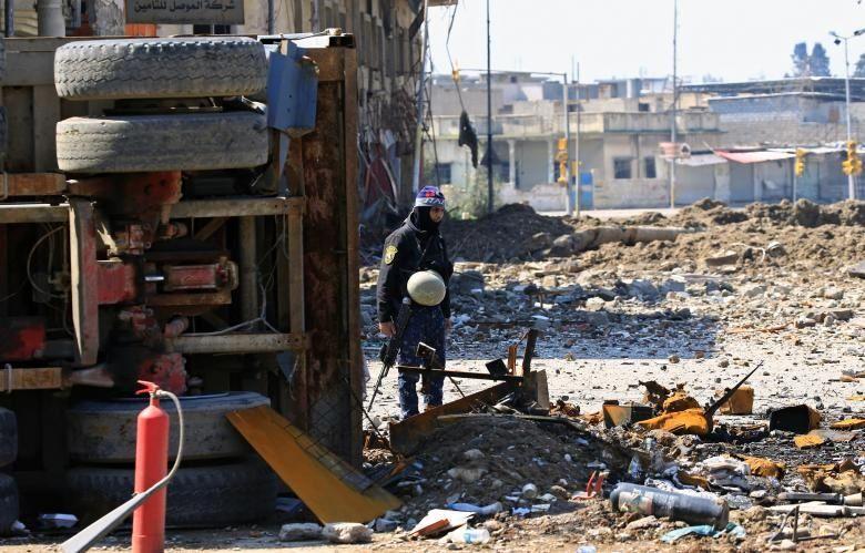پیشروی نیروهای عراقی در موصل
