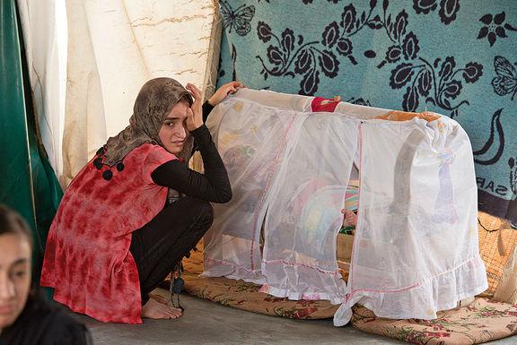 داغ ننگ بچههای حاصل تجاوز داعش بر پیشانی زنان ایزدی