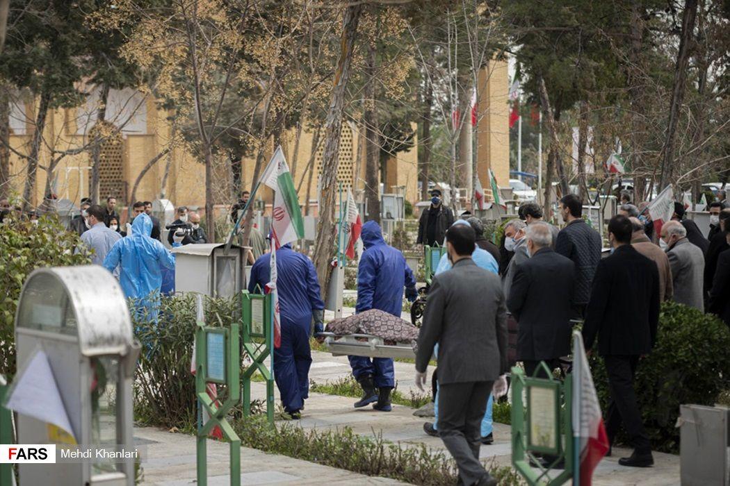 تدفین نماینده تهران
