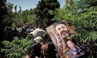 مراسم خاکسپاری محمدعلی کشاورز +عکس