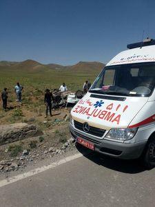 ۳ کشته و ۲ زخمی در برخورد پژو با گاردریل و تیربرق