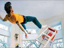 خطر سقوط بر اثر تمیزی!