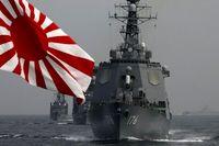 رزمناو ژاپنی راهی دریای عمان شد