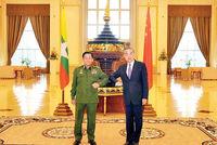 میانمار در دامان چین و روسیه