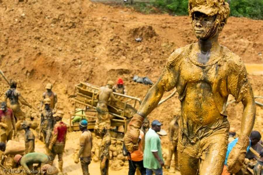 معادن طلای غنا