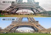بناها و مناظر دیدنی کشورها در گذر زمان +تصاویر