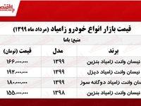 قیمت روز نیسان وانت +جدول