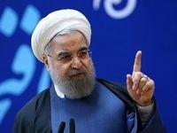 روحانی: ما لبه گاز انبر خارجی را پودر خواهیم کرد