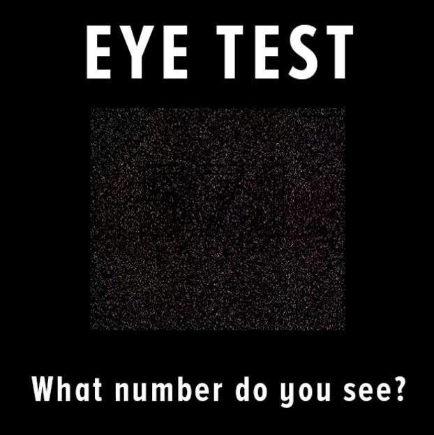 تست ساده چشم