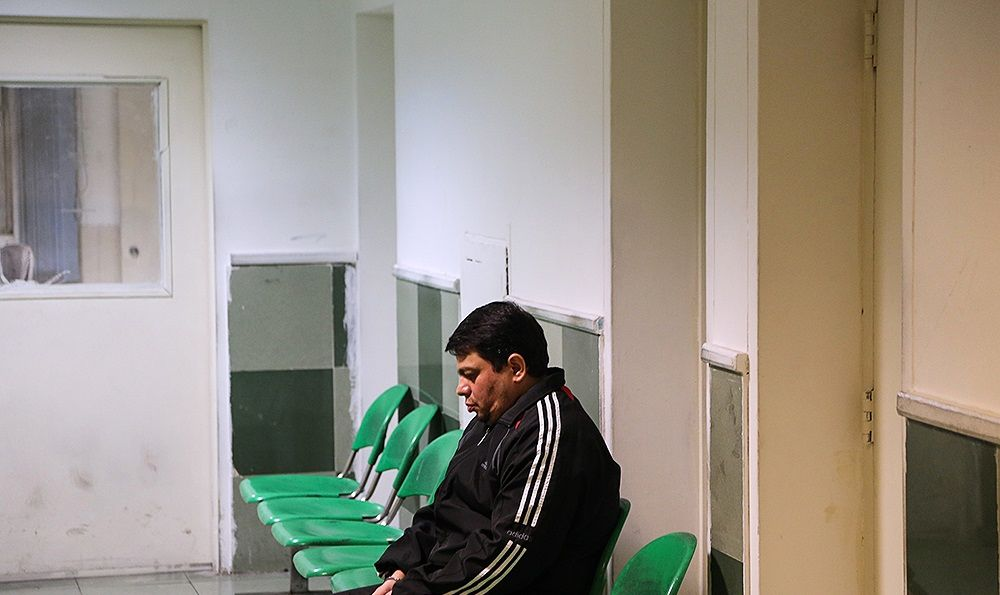 تصاویری از  لحظاتی قبل اعدام باقری درمنی