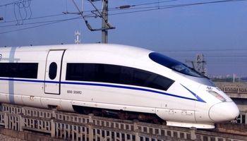 میزان لرزش در قطارهای سریع چینی!