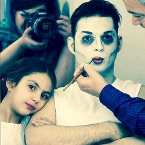 «پیمان معادی» با گریمی خاص در کنار دخترش +عکس