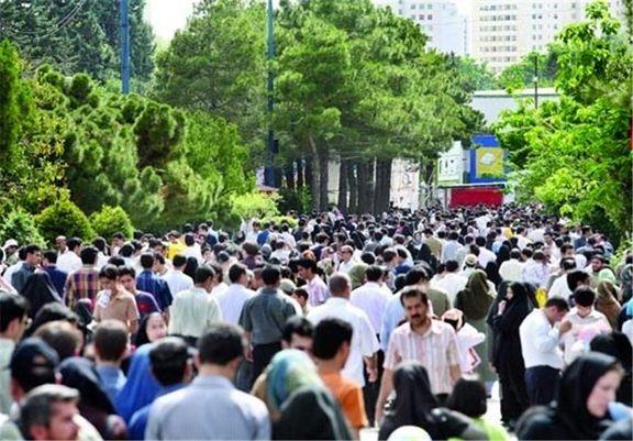 ۱۲ هزار و ۲۰۰ نفر؛ تراکم جمعیت تهران در ۱ کیلومتر مربع