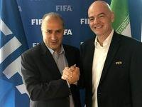تمجید رییس فیفا از تیم ملی فوتبال ایران