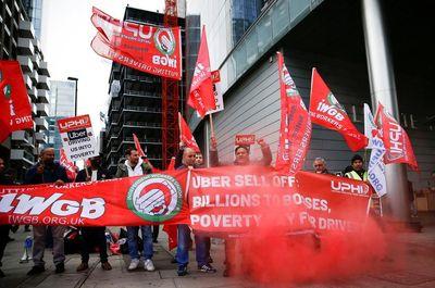اعتصاب رانندگان اوبر