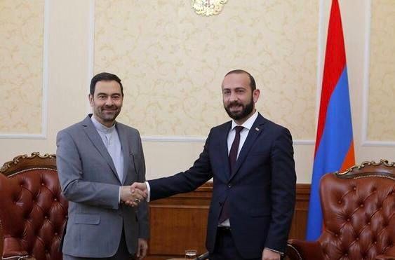 دیدار سفیر ایران با رییس مجلس ملی ارمنستان