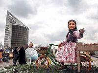 خلاقیت شهرداری مشهد در انتخاب نمادهای نوروزی +تصاویر