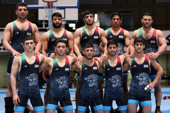 کشتی آزاد ایران با 7طلا و 3برنز بر بام قاره کهن ایستاد