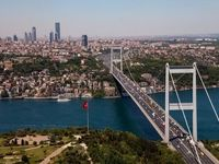 خیابانهای استانبول بعد از قرنطینه ۴۸ساعته +فیلم