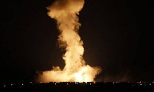حمله جنگنده ناشناس به پایگاه نظامی در جنوب حلب