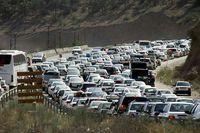 ترافیک در خروجیهای مازندران به سمت تهران سنگین است